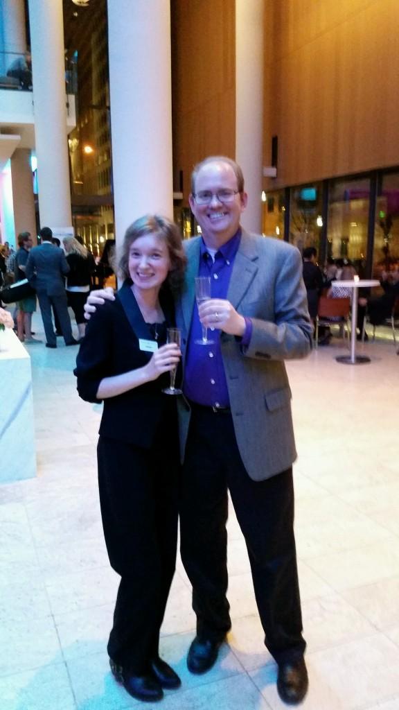 Bloggers toasting the new season: Emily Hogstad of